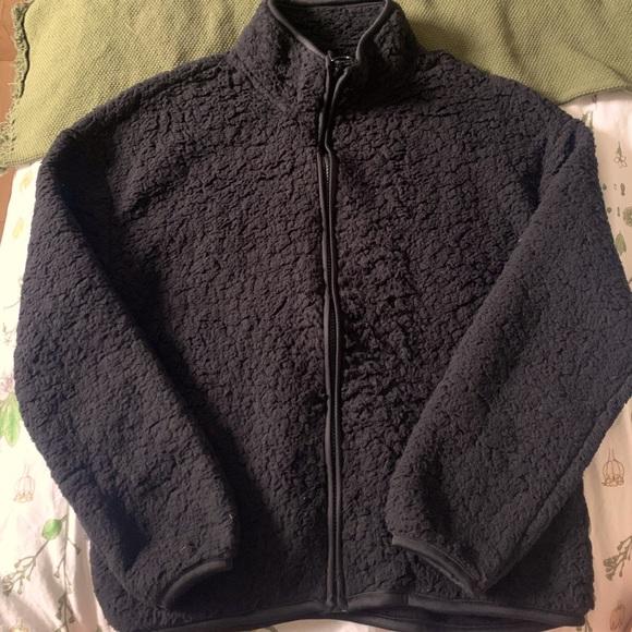 Teddy Sweater Jacket
